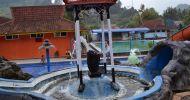 Wisata alam kolam air panas walini dari kuningan