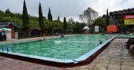 Wisata alam kolam air panas walini dari purwakarta