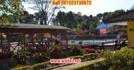 Wisata alam kolam air panas walini dari tangerang
