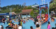 Wisata alam kolam air panas walini dari trenggalek