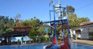 Wisata alam kolam air panas walini dari madiun