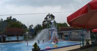Wisata alam kolam air panas walini dari sragen