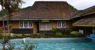 Wisata alam kolam air panas walini dari subang